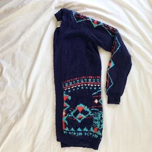 PacSun Sweaters - Long Patterned Sweater